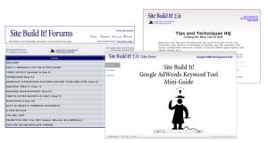 SBI website building tools picture