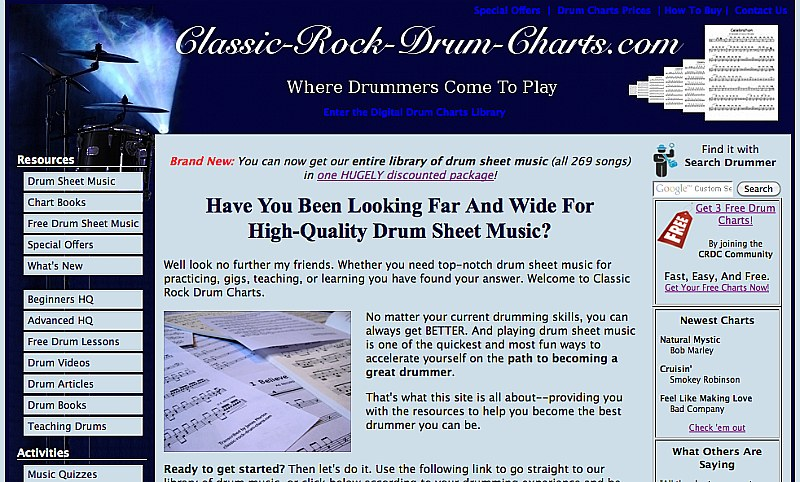 Classic-Rock-Drum-Charts.com picture by Kevin Morton
